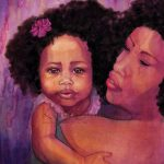 New Sweet Girl African American Art
