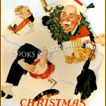 Norman Rockwell Christmas Vintage Old Art Print