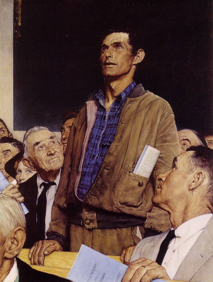 Norman Rockwell Freedom