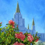 Oakland California Lds Temple Painting Shalece