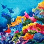 Ocean Art Paintings Beautiful Fine Marine Life