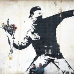 Offbeat Street Artist Banksy Work Featured Istanbul Exhibition Daily