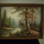 Oil Painting Canvas Scott Landscape Signed Numbered Sale Springfield