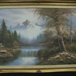 Oil Painting Canvas Signed