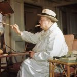 Oil Painting Helped Relax Churchill During Wartime History News