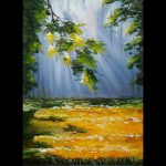 Oil Painting Lana Kanyo Lonely Branch