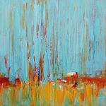 Oil Painting Large Original Abstract Landscape