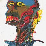 Oil Painting Reproduction Jean Michel Basquiat Blue Head Made Order