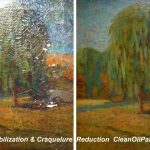Oil Painting Restoration Repair Cleaning