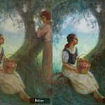 Oil Painting Varnish Removal Cleaning Lis Art