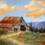 Old Barn Painting Deb Owens