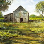 Old Barn Painting Lee