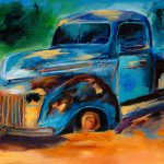 Old Ford Back Field Painting Elise
