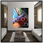 Original Abstract Painting Extra Large Paintings Red Art Sale