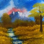 Original Bob Ross Paintings Sale All