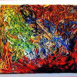 Original Canvas Abstract Art Acrylic Painting Aryiacassandra