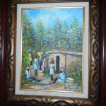Original Oil Painting Haitian Artist