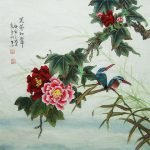 Original Painting Oriental Art Chinese Lovely