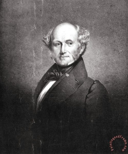 Others Martin Van Buren Painting Print