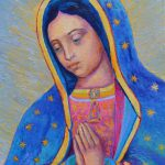 Our Lady Guadalupe Poster Virgin Mary Print Catholic