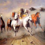 Outstanding Oil Paintings Animals Tail