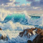 Paint Dramatic Seascape Samuel Earp