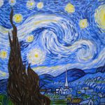 Paint Van Gogh Starry Night Clapham Tuesday October Popup