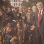 Painting Donald Trump Going Viral Not