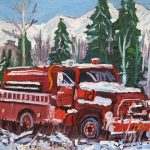 Painting Fire Truck Real Art