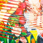 Painting James Rosenquist Females Flowers Oil Canvas Richard