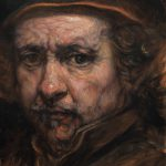 Painting Old Master Copy Water Soluble Encaustics