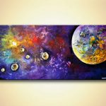 Painting Sale Planets Abstract