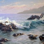 Paintings Artists Adamow Alexis Painting Seascape Art