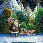 Paintings Beautiful Christmas Story Lynn Bywaters Art