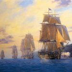 Paintings British Navy Sailing Ships Line Wikidiscoverypedia Wooden Iron