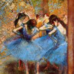 Paintings Edgar Degas Ballet