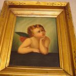Pair Century Northern Italian Angel Paintings Sale Antiques