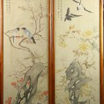 Pair Chinese Framed