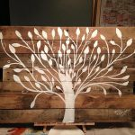 Pallet Tree Painting Wall Art Furniture