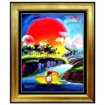 Peter Max Art Sale Original Acrylic Painting