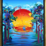 Peter Max Better World Painting Sale