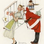 Photos Behind Norman Rockwell Iconic Holiday Paintings