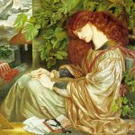 Pia Tolomei Rossetti Painting
