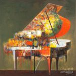 Piano Classical Music Painting