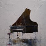 Piano Painting Justyna