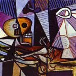 Picasso Abstract Still Life Painting
