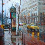 Pin Lin Impressionist Cityscape Painter Tutt Art Pittura Scultura