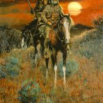 Pin Mountain Man Oil Paintings