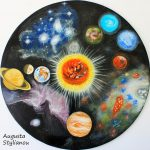 Planets Nebulae Day Painting Augusta