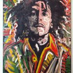 Pop Art Painting Bob Marley Matt Pecson